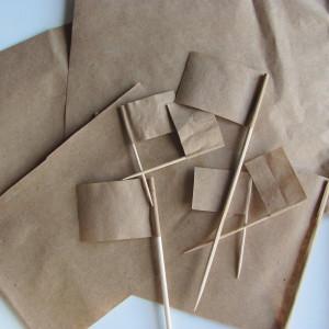 ECOline bandierine di carta